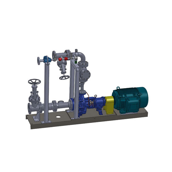 2TE Horizontal Multi-Stage Centrifugal Pump System