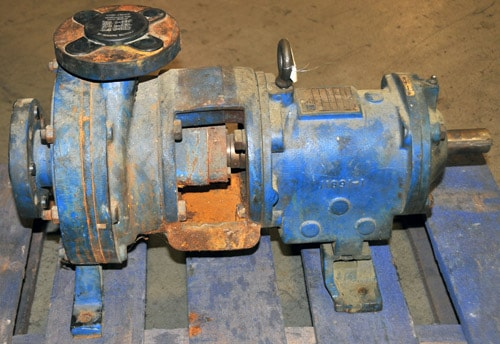 Centrifugal Pump Rebuild (before)