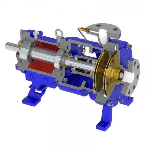 Multi-Stage Heavy Duty Pump