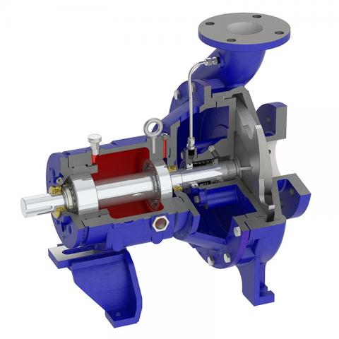 ANSI B73.1 Heavy Duty Chemical Process Pump